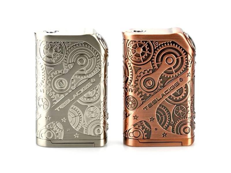 box tesla nano steampunk 120w tc cigarette lectronique bordeaux vapot 33. Black Bedroom Furniture Sets. Home Design Ideas